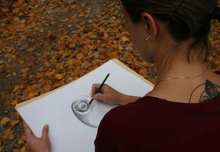 Corso di disegno a matita a Como