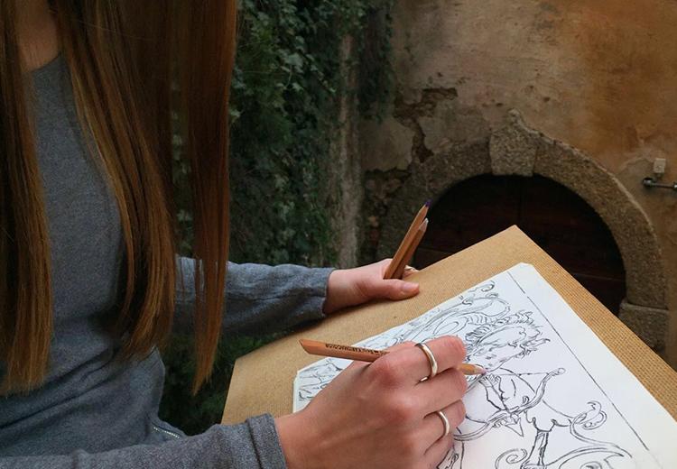 Corso di disegno a matita a Bellagio