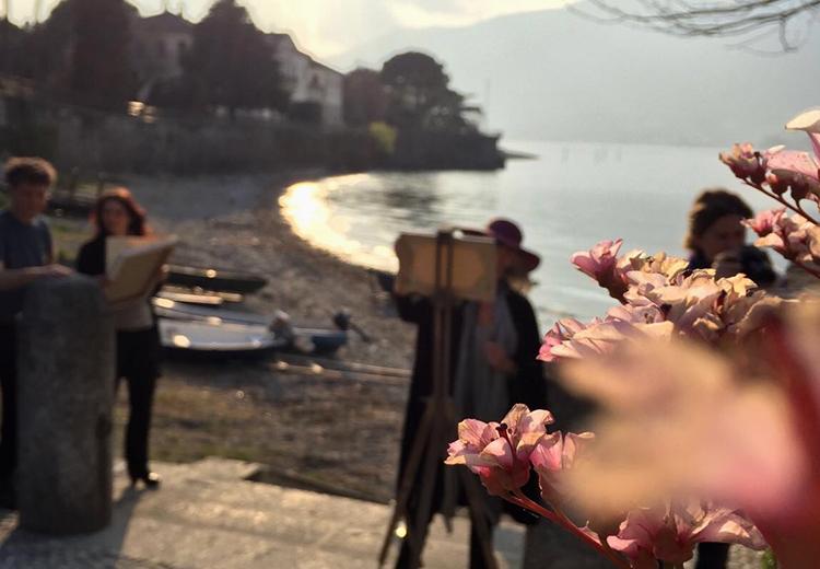 Corso di pittura a Bellagio