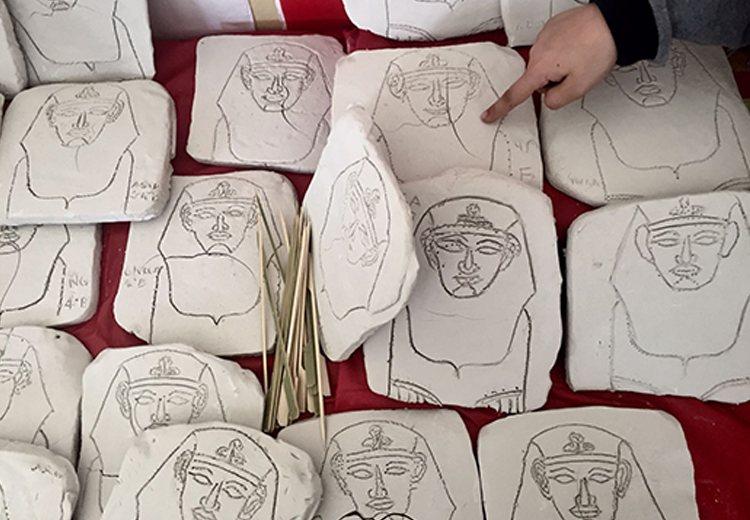 laboratorio artistico scolastico egizi villa melzi