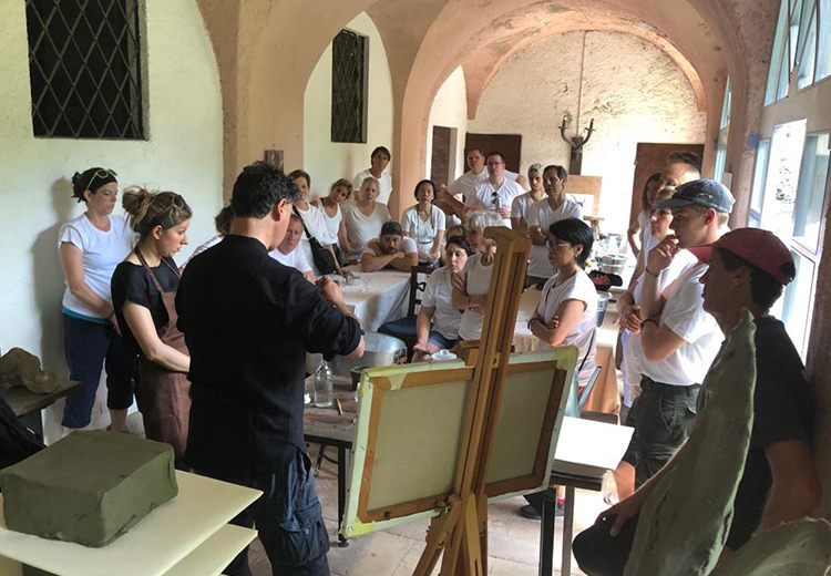coaching art experience lake como