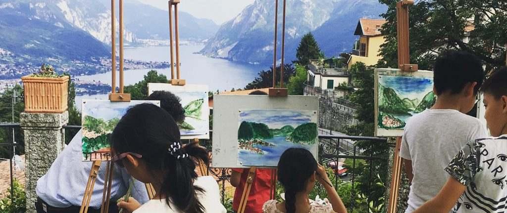 esperienza arte famiglia con bambini